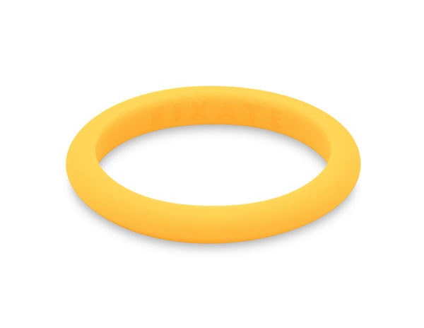 Stackables Women's Silicone Ring | Neon Yellow