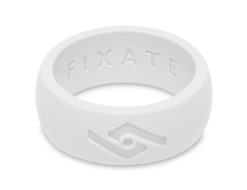 FX8 Men's Silicone Ring  | Pure White