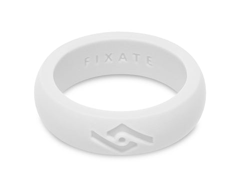 FX8 Women's Silicone Ring | Pure White
