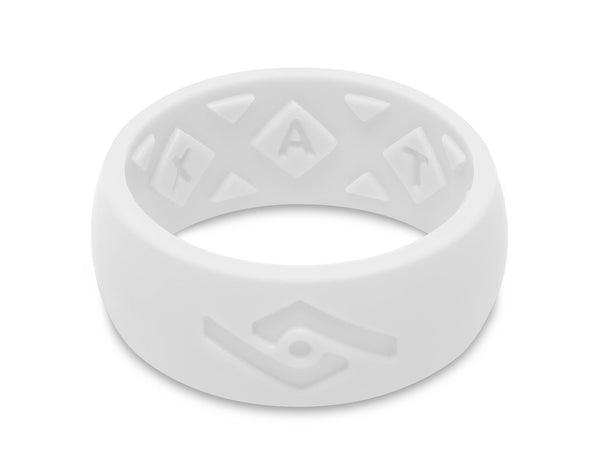 FX8 X-Vent Men's Silicone Ring | Pure White