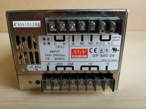 Mean Well 24VDC 20A Automation Power Supply SP-500-24