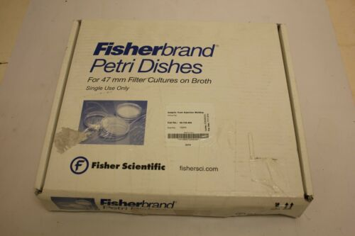 Fisherbrand™ petri dishes 150 ct 09-720-500 47mm