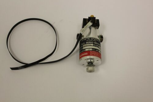 Dynetic Systems D.C. Servo Motor 509096A w/ Optical Encoder