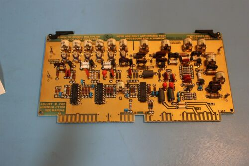 HP/AGILENT UNIVERSAL TIME COUNTER 5370A MULTIPLIER BOARD 05370-60024