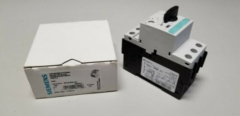 New Siemens Circuit Breaker 3.5-5A 3RV1021-1FA10 Motor Control Protection