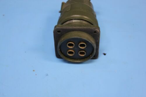 Cooper Box Mount Male Military Connector M32 AWG 4 Pin C3102E32-17PN-CC