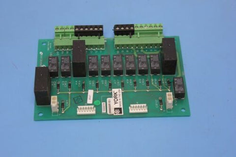 York Chiller Circuit Board 031-01093C000 Rev. B