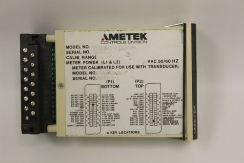 AMETEK CONTROLS DIGITAL PANEL METER 572B 572B2B