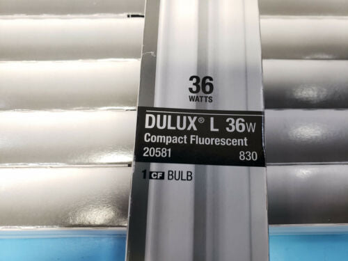 4 Sylvania Dulux L 36W Compact Replacement Bulb 20581 830