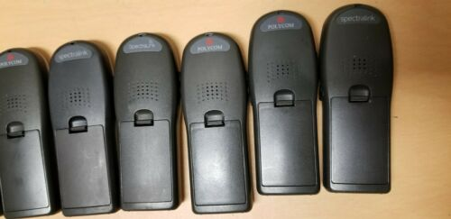 7 Spectralink Wireless Phones W/Batteries & Charging Stations LTB100 602X 6020