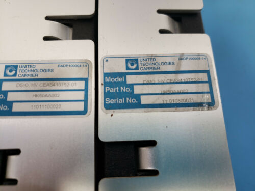 2 United Technologies DS10 HV CEAS410752-01 HK50AA002 Modules