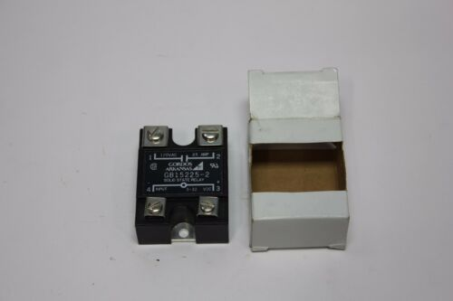 GORDOS SOLID STATE RELAY 120VAC 25A GB15225-2