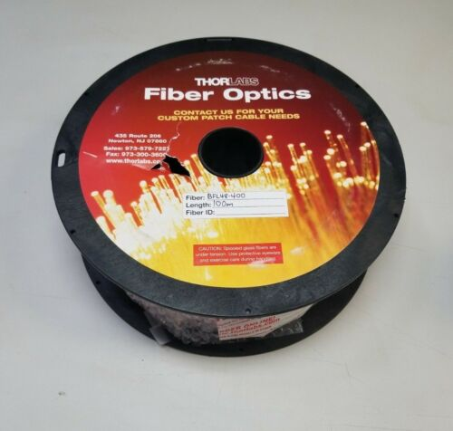 100m Reel of Thorlabs Multimode Fiber Optic Cable Bfl48-400