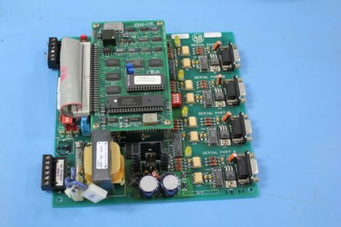 Allen Bradley 154959 rv.02 PC & Daughter PLC Board