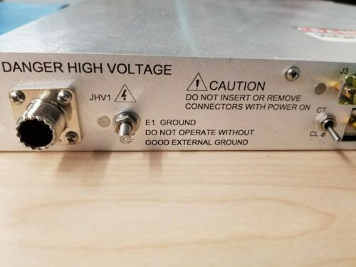 Glassman High Voltage Regulated DC Power Supply PS/FJ20R06.0 20KV 6MA 120W