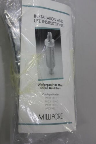 "Millipore Wafergard II Mini Inline Gas Filter WG2F01HS1 1/4"" Compression Seal"