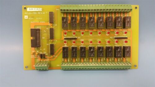 ADVANTECH 16 CHANNEL RELAY OUTPUT DAUGHTER BOARD PCLD-785 REV.1