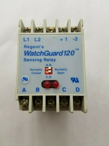 Regent's Controls WatchGuard120 Sensing Relay