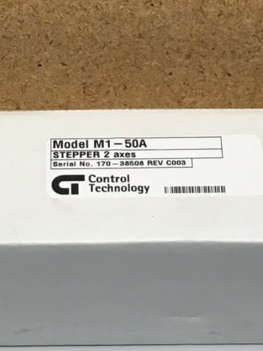 Control Technology M1-50A Stepper 2 Axes NEW