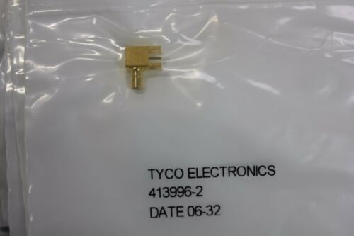 90 Pieces Tyco 413996-2 Smb Receptacle Connector R/a 50 Ohm Pcb Mount
