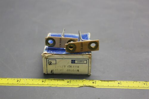 2 GE OVERLAOD RELAY HEATERS THERMAL UNIT CR123 C4.66A (S24-1-55)