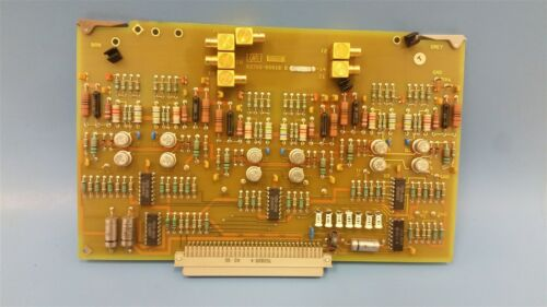 HP/AGILENT DS3 TRASNMISSION TEST SET CIRCUIT BOARD 03789-60018