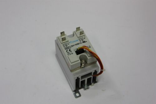 CROUZET/CRYDOM DUAL OUTPUT SOLID STATE RELAY WITH HEATSINK 84140810