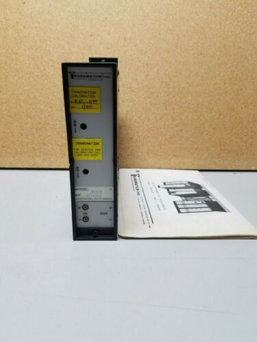 Transmation Quick Cal 3000 3530A Voltage Alarm