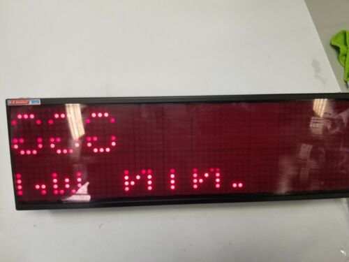 EZ AUTOMATION EZMR-2L10C-E INDOOR Nema 12 2 line 10 character red LED Marquee 2""