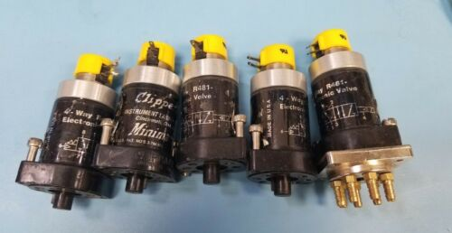 (5) Clippard Electronic Valves R481