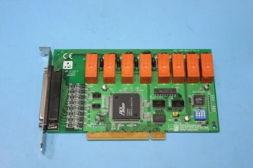 Advantech PCI-1761 8-ch Relay and 8-ch Isolated Digital Input PCI Card