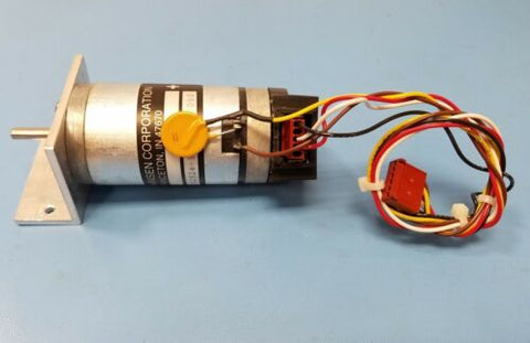HANSEN 116-32924-5 24V DC MOTOR WITH ENCODER AND MOUNT