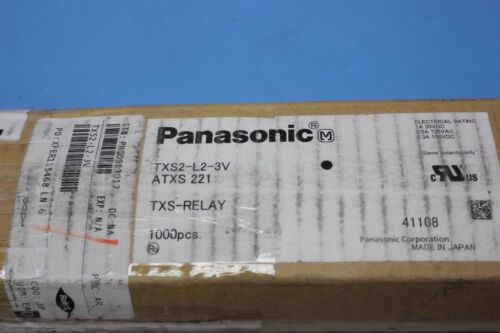 40 Panasonic Through Hole Mount Relay Dpdt 1a 3v TXS2-L2-3V