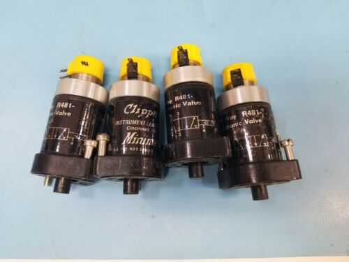 (4) Clippard Electronic Valves R481