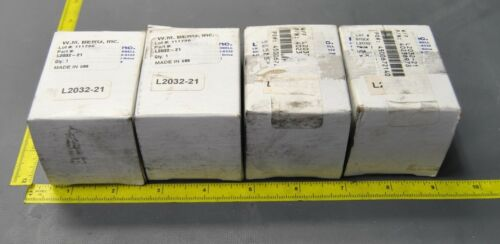 (4) LM/TARBELL CERAMIC BEARINGS L2032-21 (S8-1-150FRE)
