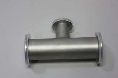 "Lesker Stainless Steel Tee Reducer QF40-QF25 A5.12"" QF40X25T High Vacuum"