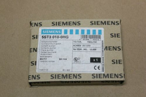 NEW SIEMENS AUXILIARY CIRCUIT SWITCH 5ST3 010-0HG