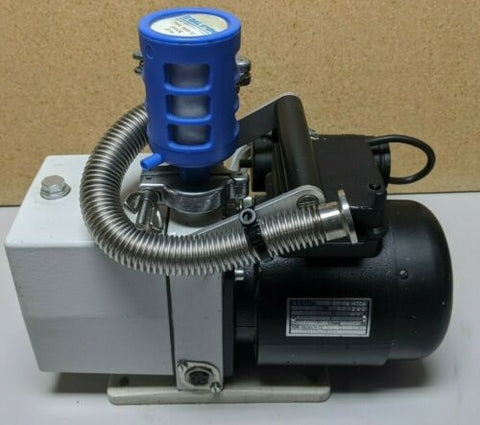 Pfeiffer Duo DuaL Stage Rotary Vane Pump with AEG Type 63 K2 R3Q4 Motor 1,5A
