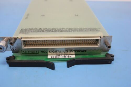 Keithley 7020 Quad 1x10 Muliplexer for 7001 & 7002 Switch System