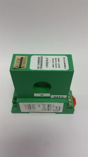 CR MAGNETICS DC CURRENT TRANSDUCER CR5210-3
