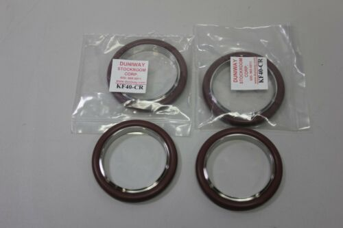 Lot of Unused Duniway KF40-CR Centering Ring With Viton