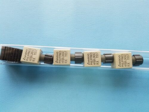 4pcs AVAGO FIBER OPTIC RECEIVERS HFBR-2404Z