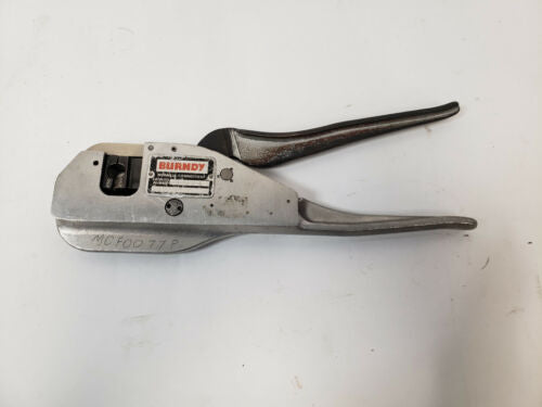 Burndy MR8PV-6 Hand Crimper Crimping Tool