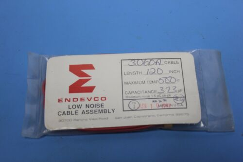 "Endevco 3060A 120"" Low Noise Accelerometer Cable Assembly"