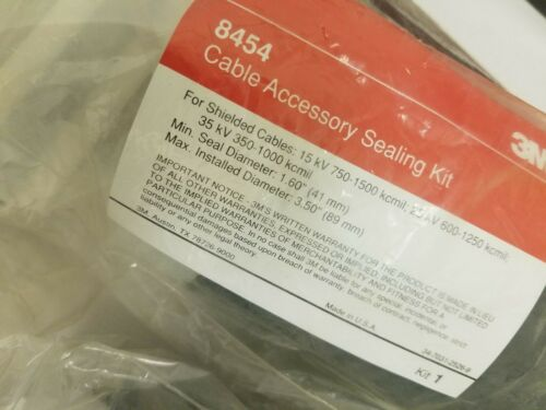 3M 8454 cable cold shrink accessory kits Plus 8428-12 Connector Insulator