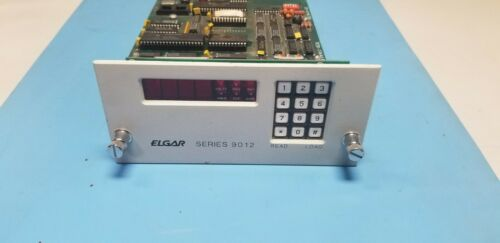 Elgar Series 9012 Programmable Plug In Oscillator