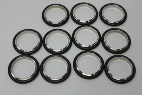 11 Unused NW40 NW 40 Centering Ring Stainless/Viton