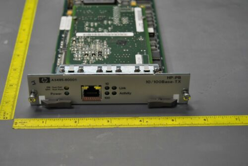 HP A3495-60001 HP-PB 10/100BASE-TX INTERFACE BOARD/CARD (S22-3-58B)