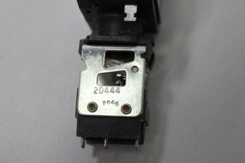 5 Micro Switch Pushbutton Switches White & Blue 2N3 2D444
