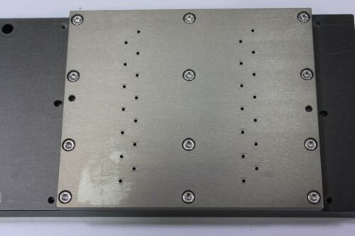 "7 3/4"" x 3 3/4"" Vacuum Chuck Plate Table - Robotics Wafer Semiconductor"